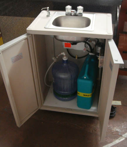 Self Contained Sink No Plumbing EBay