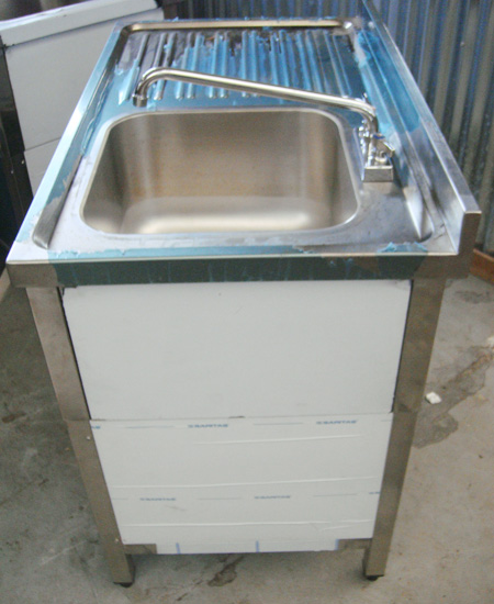 Stainless Steel Self-Contained Sink eBay