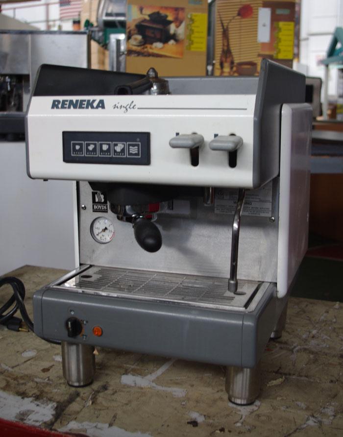 Information about VIVA Reneka espresso machine?