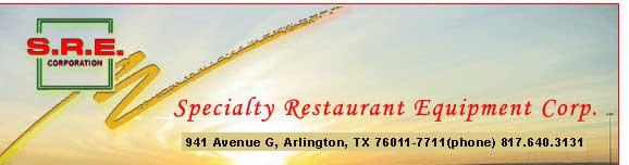 SRE Corporation : 941 Ave G, Arlington, TX 76011 (phone) 817.640.3131